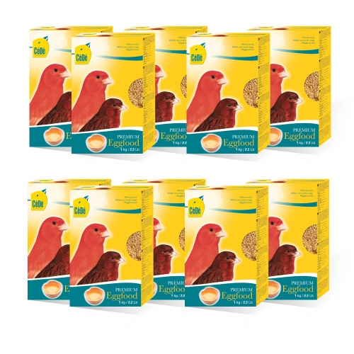 CeDe Red Canary Egg Food 10 x 1kg