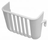 White Plastic Salad Rack