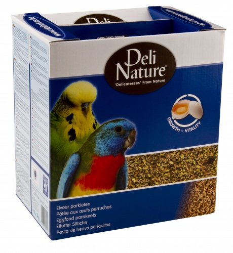 Deli Nature Budgie Egg Food Box 4kg