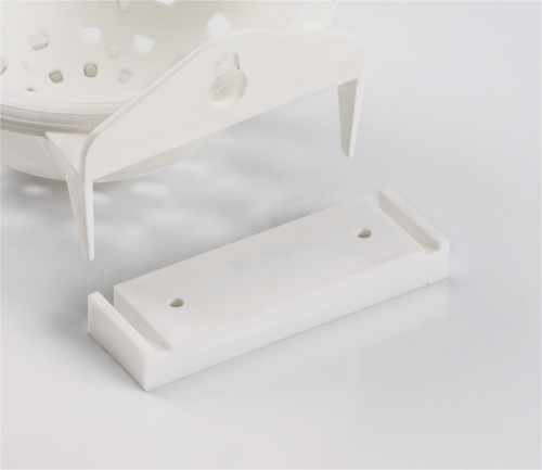 Clip For Canary Nest Pan White Plastic