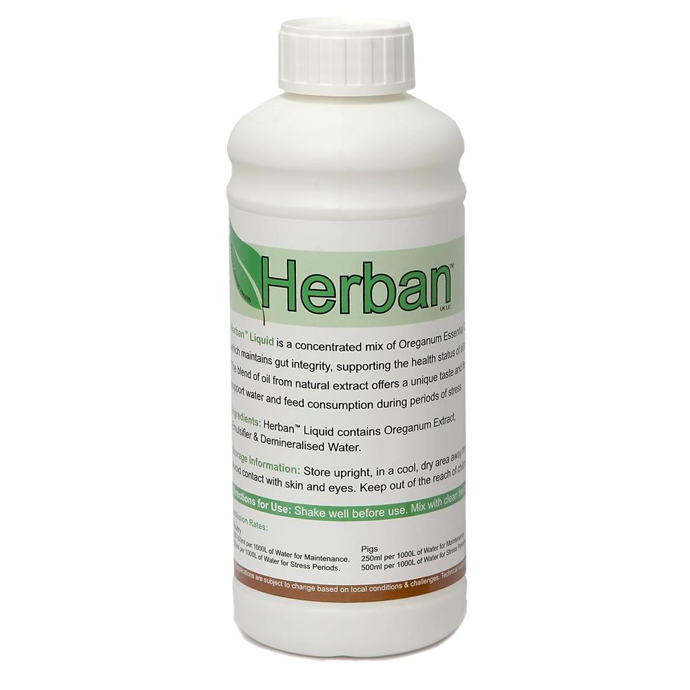 Herban Liquid GF Wholesale - Trade Bird Supplies - Poultry Supplies