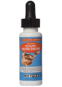 Net-Tex Poultry Nutri-drops for Chickens