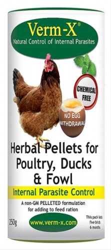 Verm-X Pellets Poultry Wormer